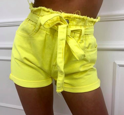 Szorty Neon yellow